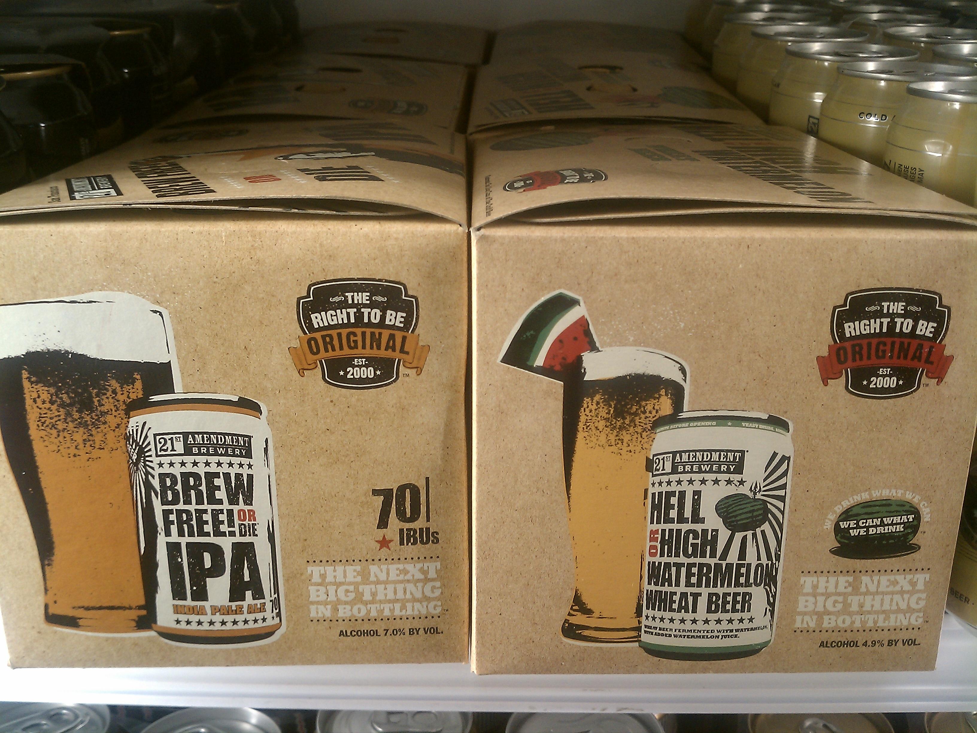 21st Amendment Launch Day! - Beer Street Journal
