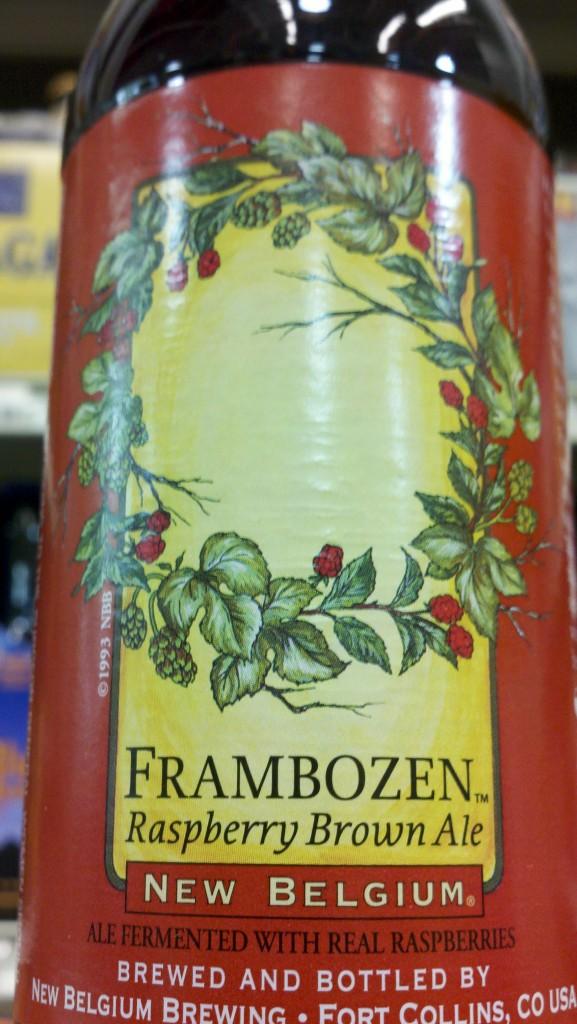 New Belgium Frambozen Beer Street Journal