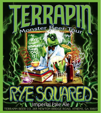 Terrapin Rye-Squared Ships Mid-Feb - Beer Street Journal