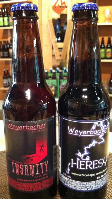 Weyerbacher Heresy Amp Insanity Return Beer Street Journal