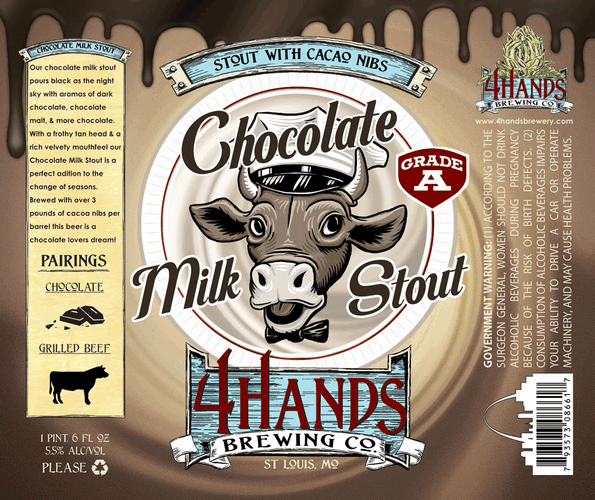 ... winter seasonal collection is their alluring Chocolate Milk Stout