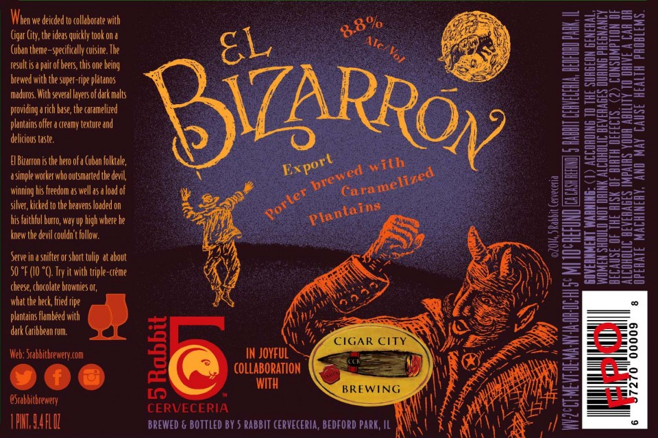 5 Rabbit El Bizarron Collab with Cigar City