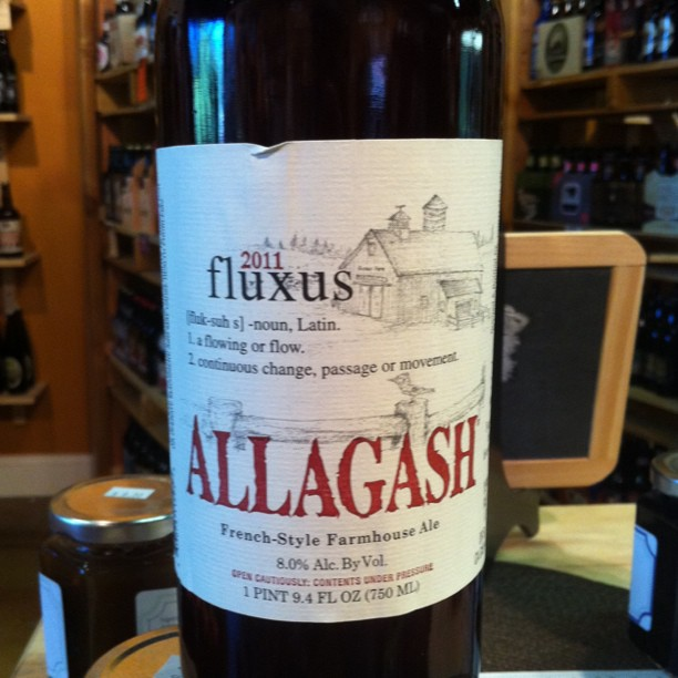Allagash Fluxus 11 Bottle