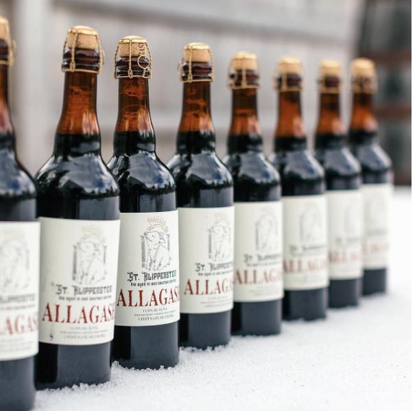 Allagash St. Klippenstein bottles