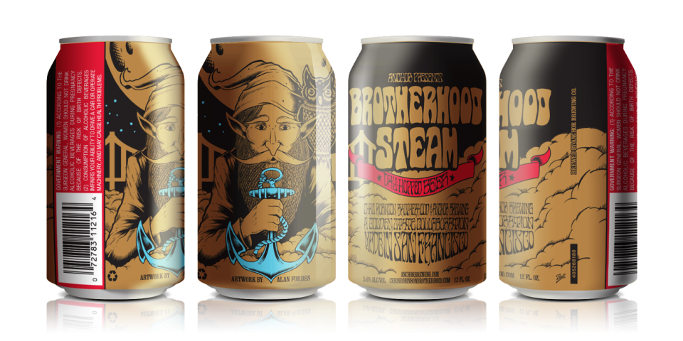 Anchor Brotherhood Steam Cans
