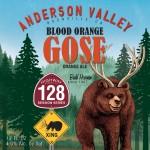 Anderson Valley Blood Orange Gose Bottles