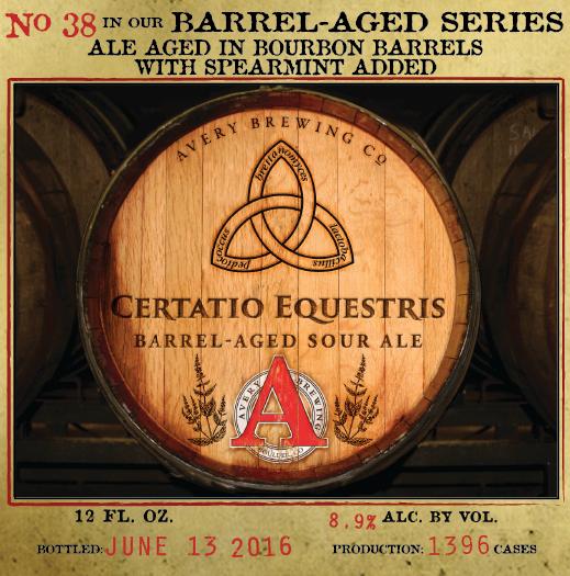 Avery Certatio Equestris
