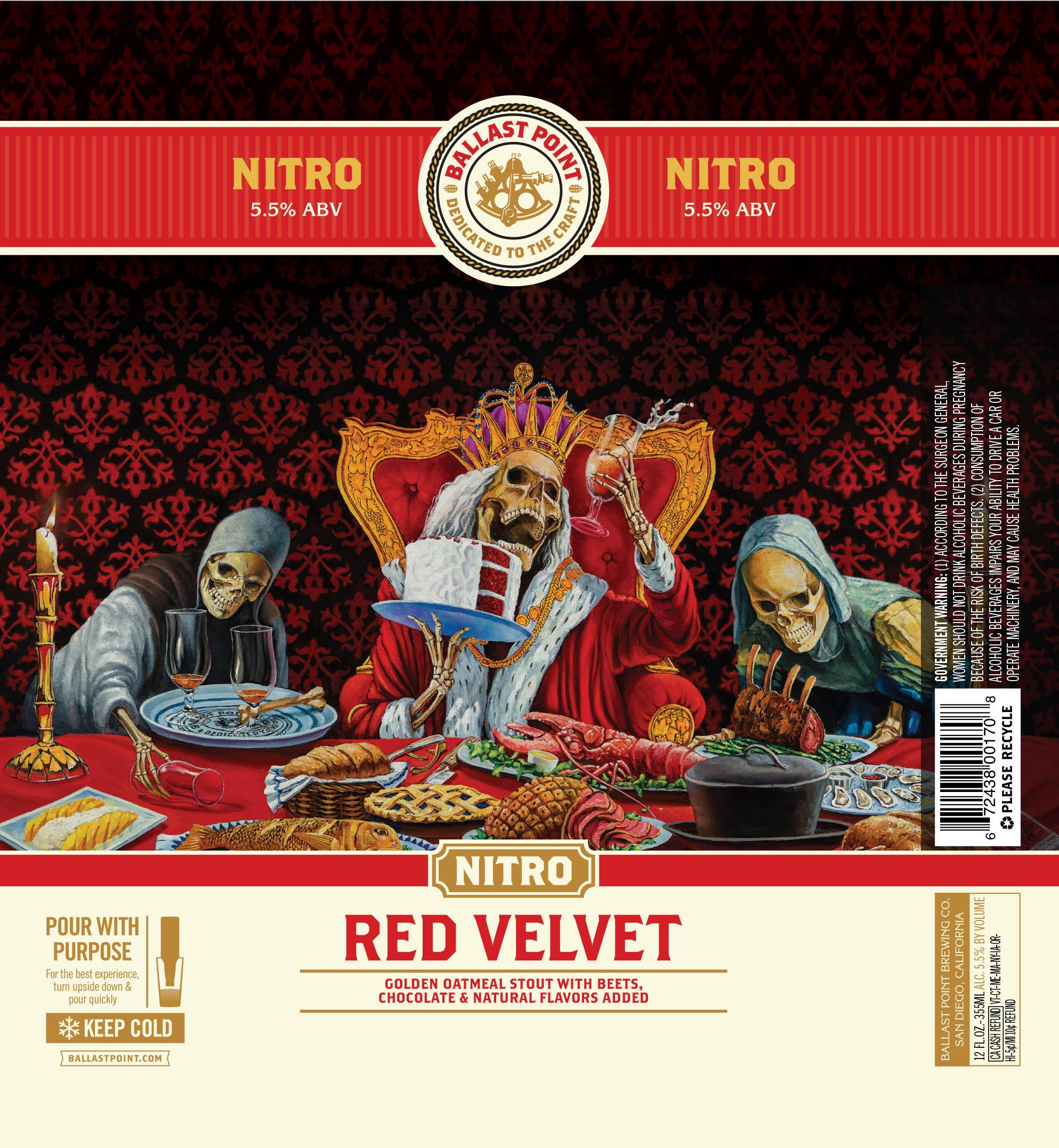 Red Velvet Cake Ballast Point Nitro