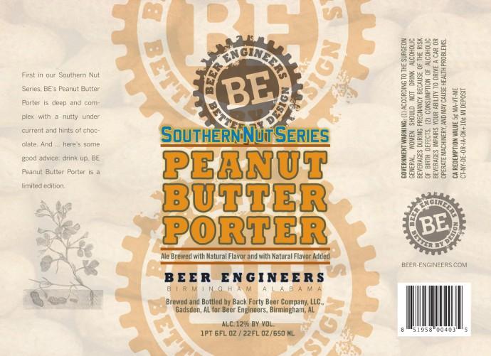 Beer Engineers Peanut Butter Porter