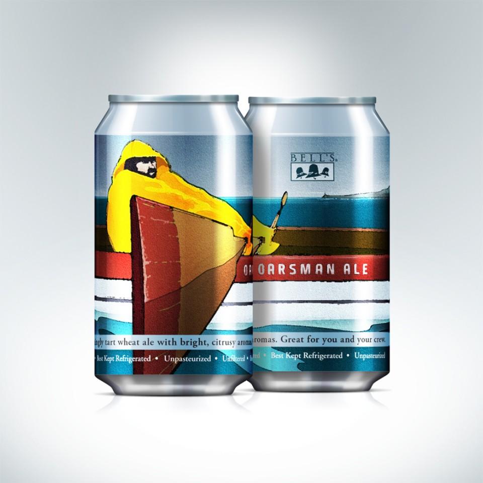 Bell's Oarsman Ale Cans