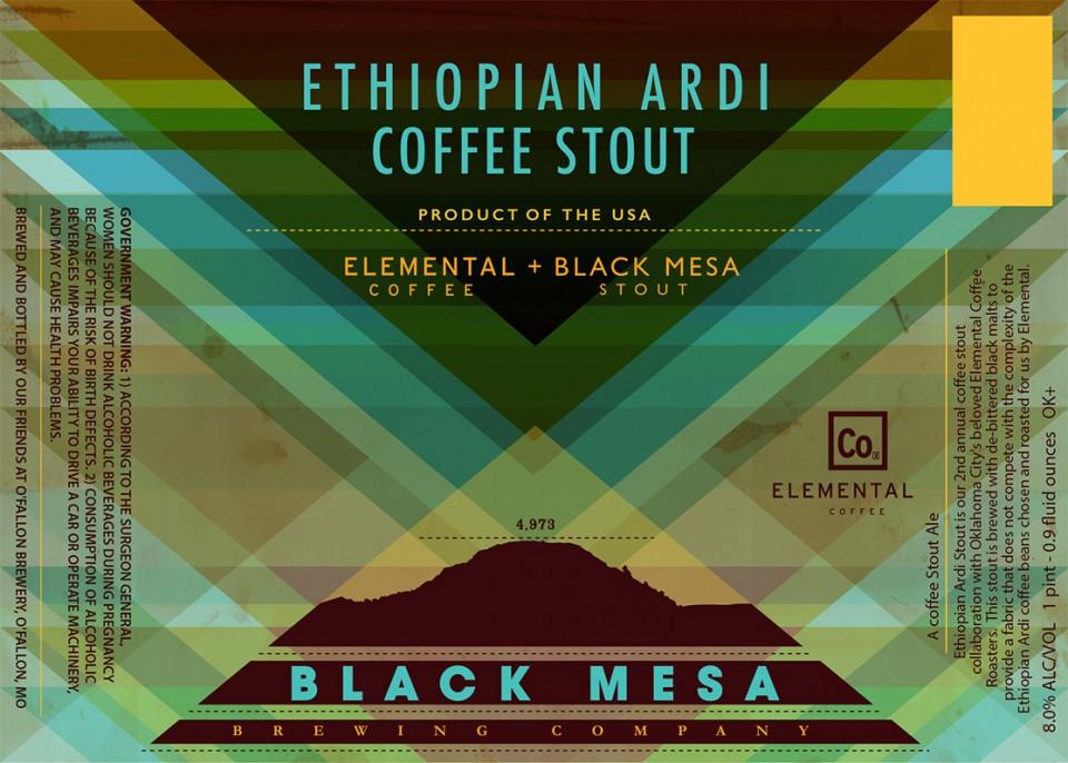 Black Mesa Ethiopian Ardi Coffee Stout