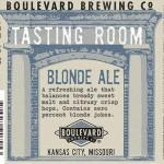 Boulevard Tasting Room Blonde Ale