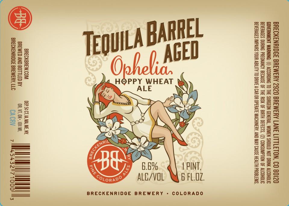 Breckenridge Tequila Barrel Aged Ophelia