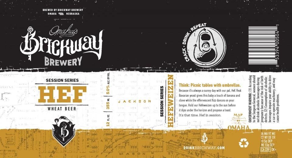 Brickway Brewery Hef