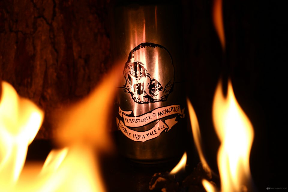 Burial Beer Persistence of Memories can