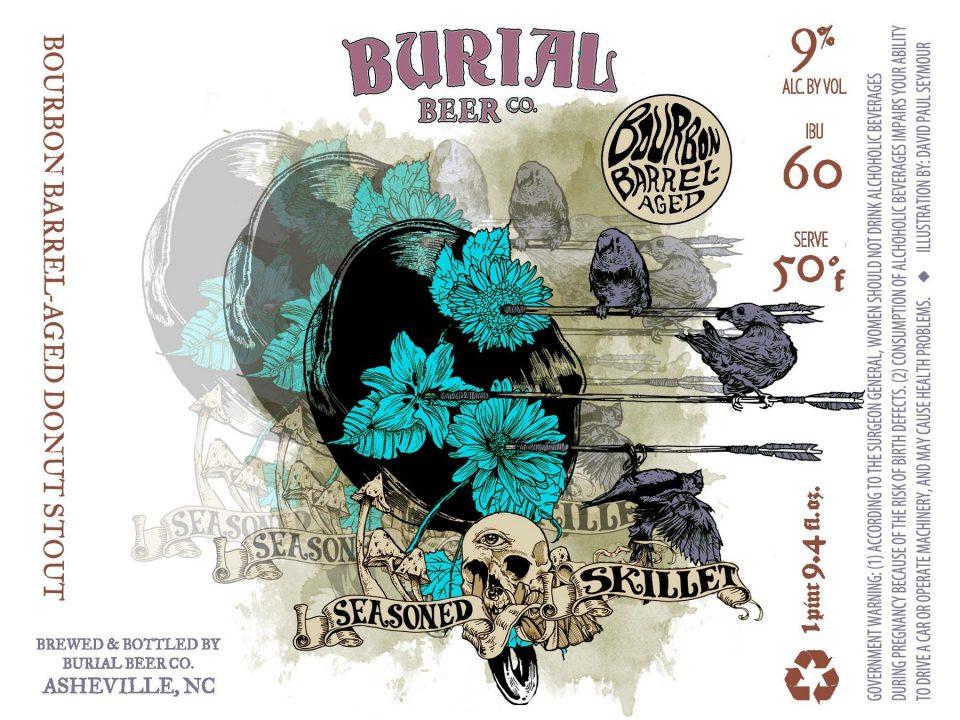 Burial Seasoned Skillet