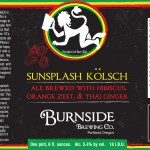Burnside Sunsplash Kolsch