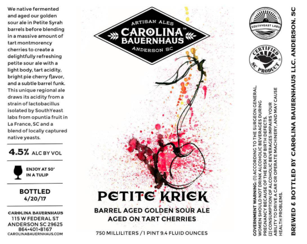 Carolina Bauernhaus Petite Kriek