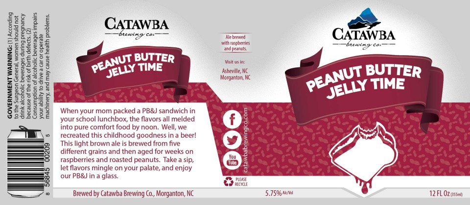 Catawba Peanut Butter Jelly Time