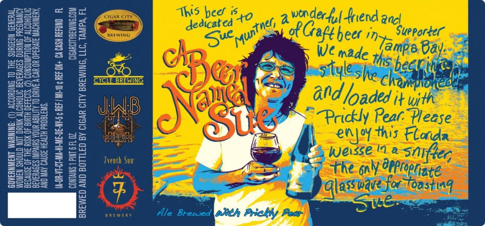 Cigar City A Beer Named Sue