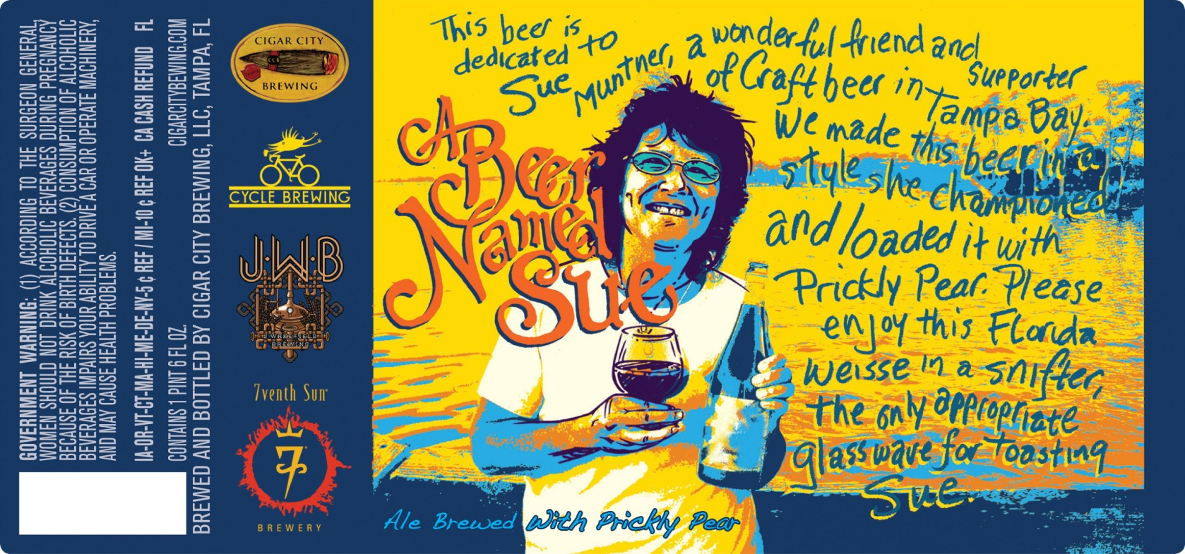 A Beer Named Sue Cigar City A Beer Named Sue
