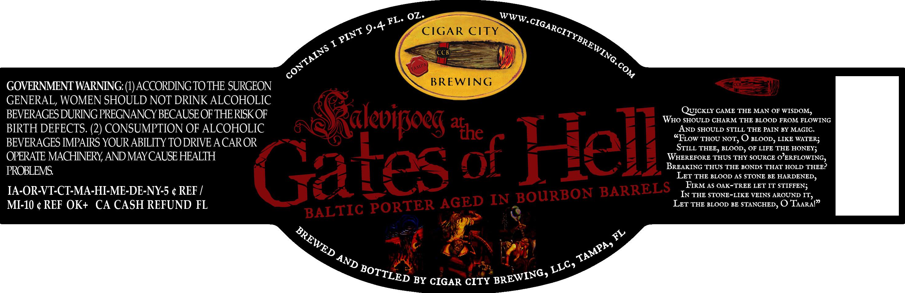 Cigar City Kaleviopig At The Gates of Hell