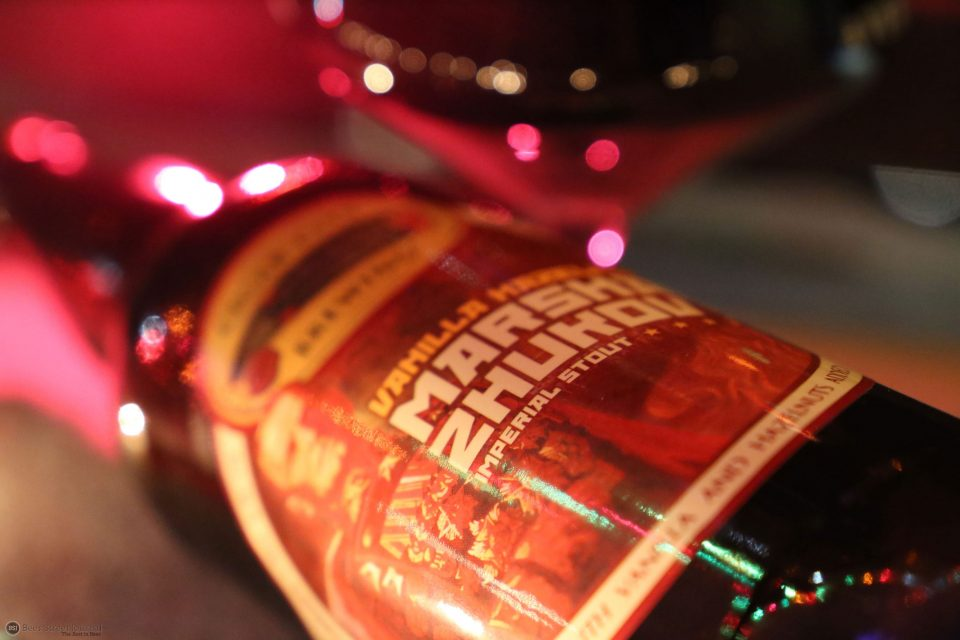 Cigar City Vanilla Hazelnut Marsha Zhukov bottle
