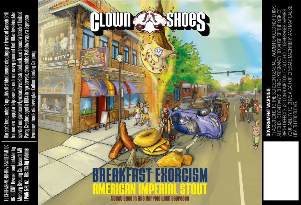 Clown Shoes Breakfast Exorcism