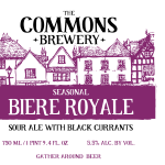 Commons Brewery Biere Royale