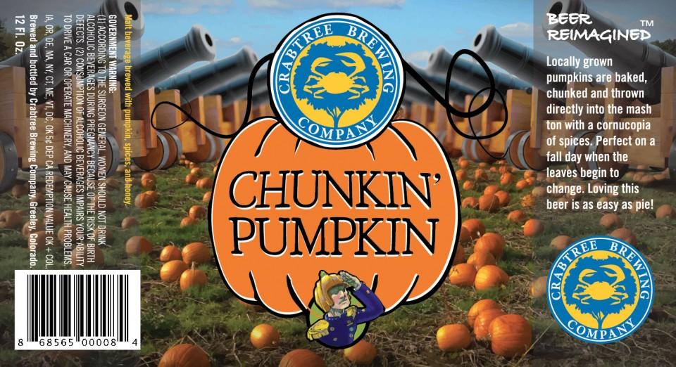 Crabtree Chunkin Pumpkin