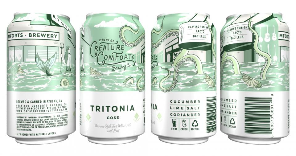 Creature Comforts Cucumber & Lime Tritonia