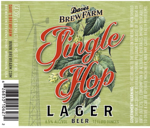 Single hop lager