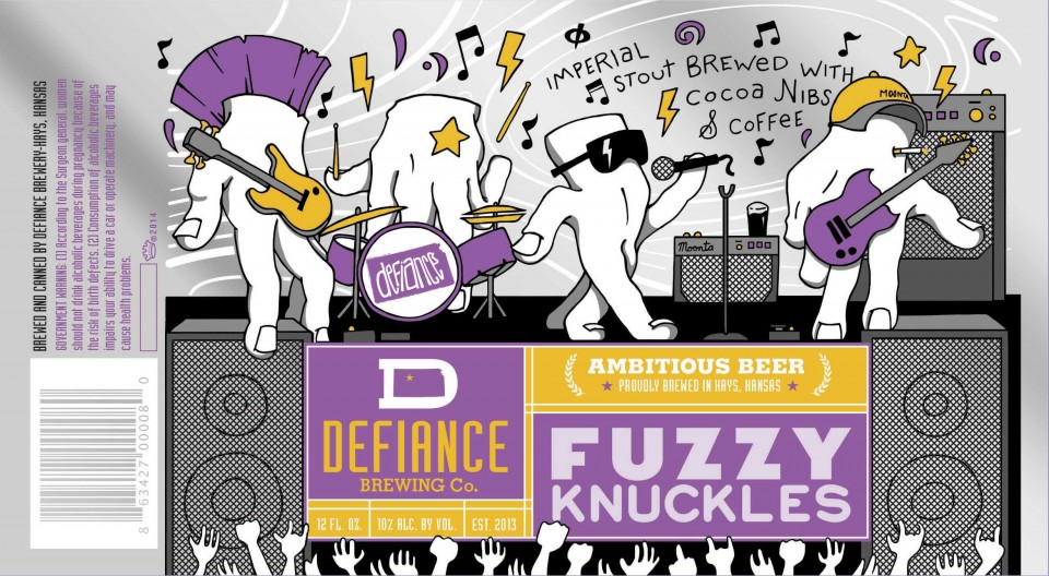 Defiance Brewing Fuzzy Knuckles