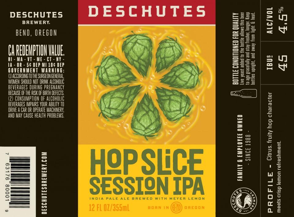 Deschutes Hop Slice Session IPA