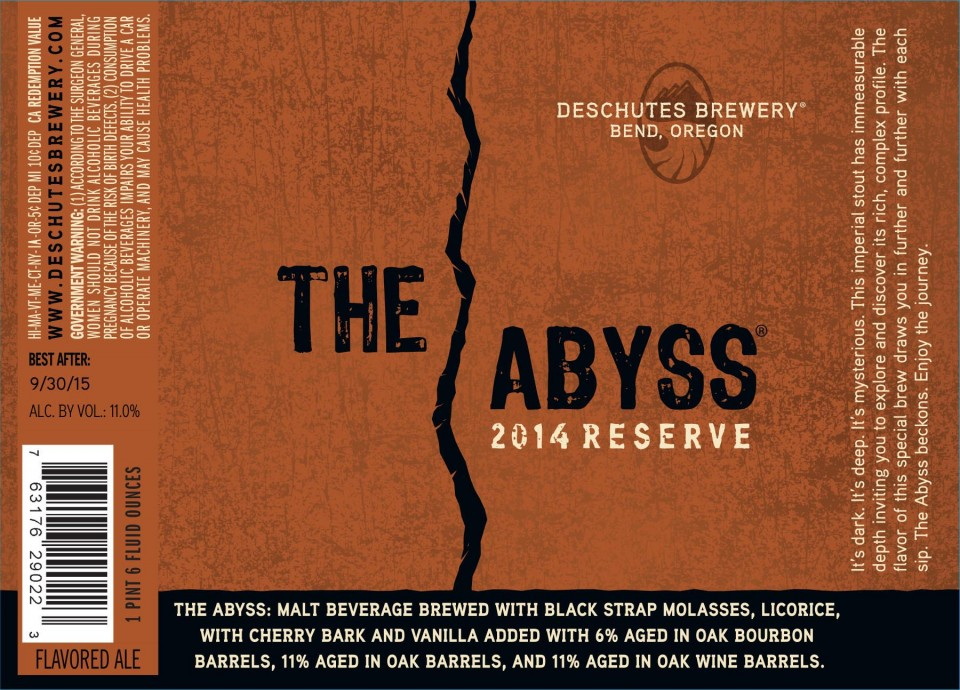 Deschutes The Abyss 2014