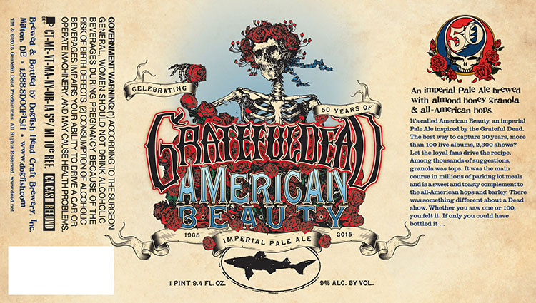 Dogfish Head American Beauty 2015