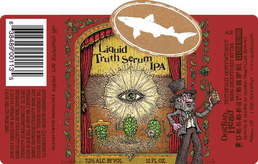 """Blissfully inefficient"" Dogfish Head Liquid Truth Serum IPA debuts in November"