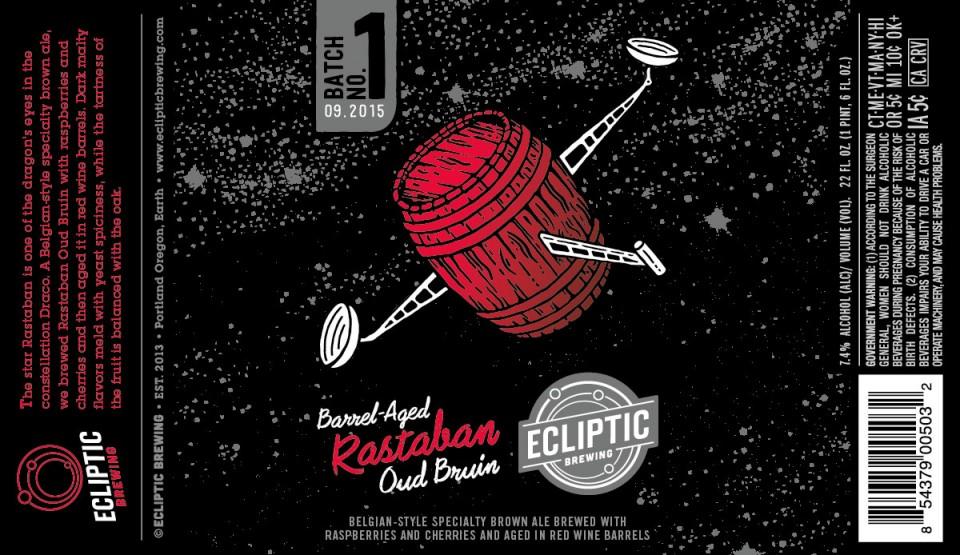 Ecliptic Barrel-Aged Rastaban Oud Bruin