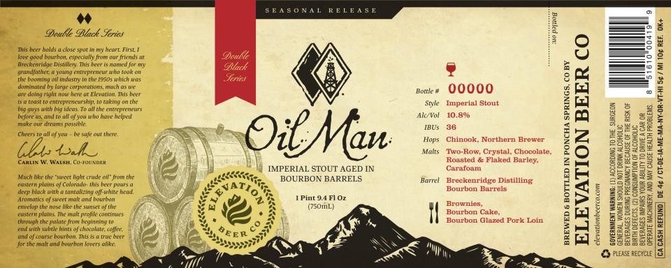 Elevation Beer Co OilMan