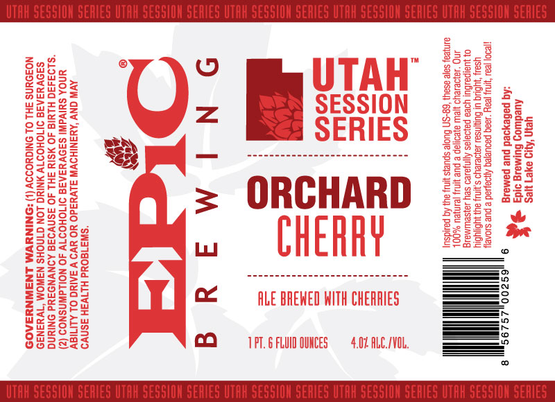 Epic Brewing Orchard Cherry