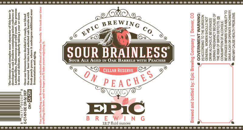 Epic Sour Brainless on Peaches