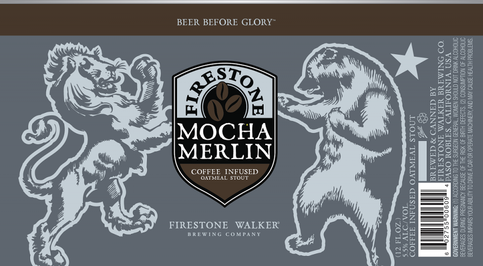 Firestone Walker Mocha Merlin cans
