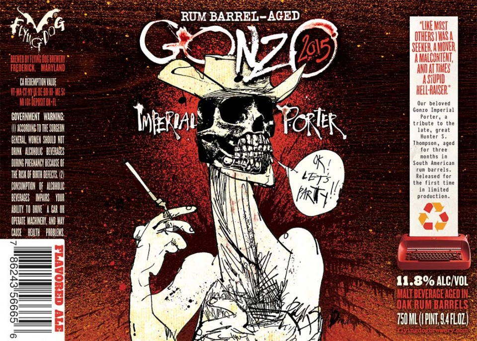 Flying Dog Rum Barrel-Aged Gonzo Imperial Porter
