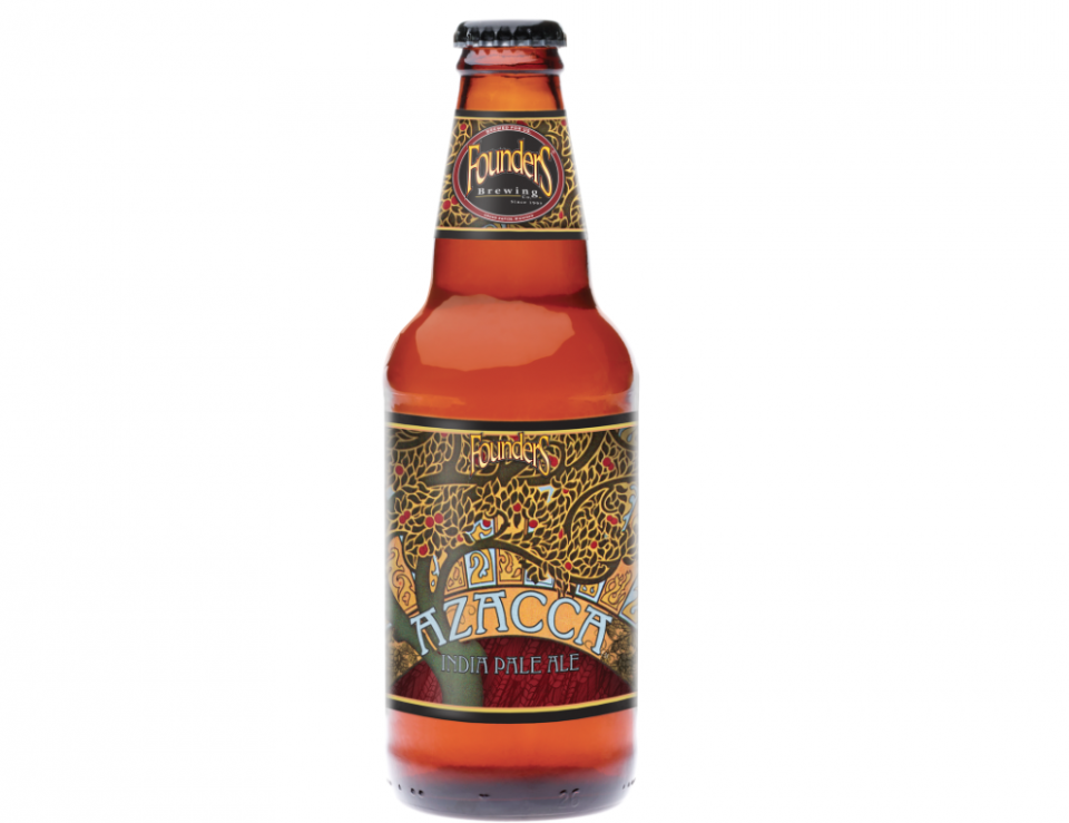 Founders Azacca India Pale Ale bottle