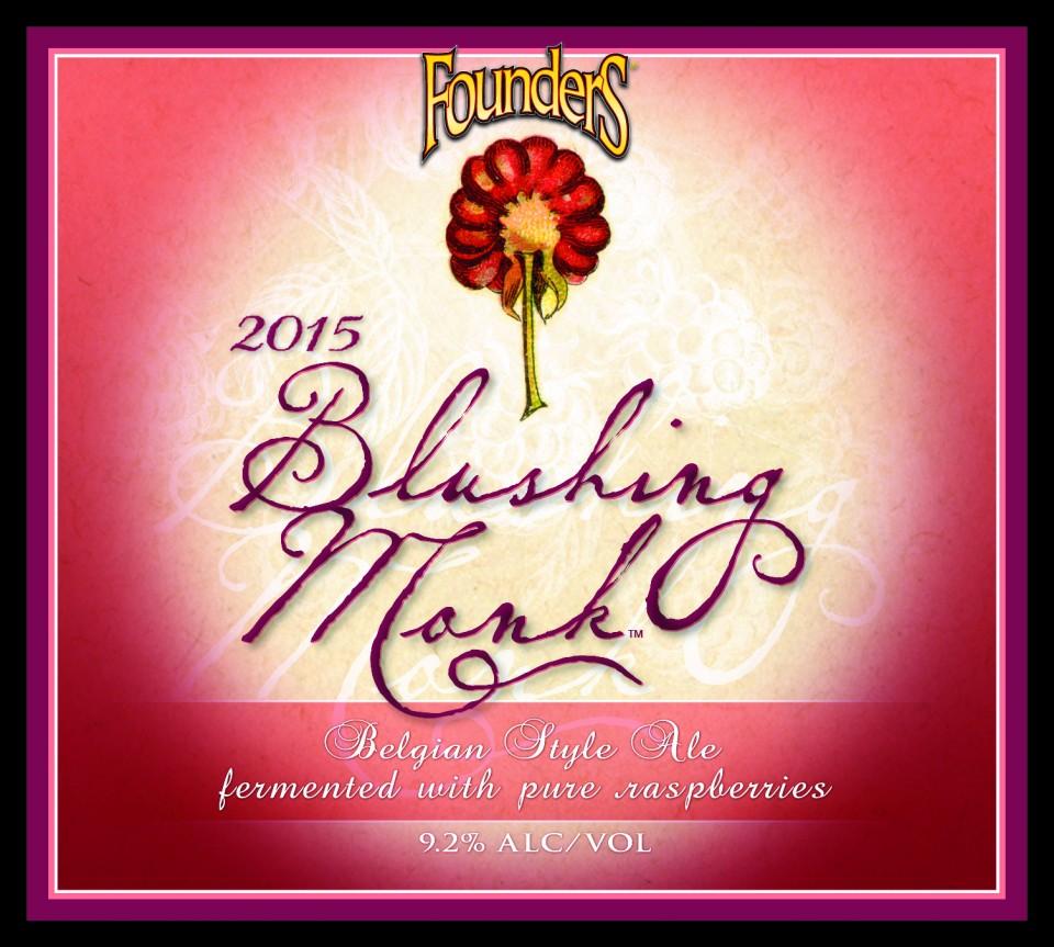 Founders Blushing Monk 2015