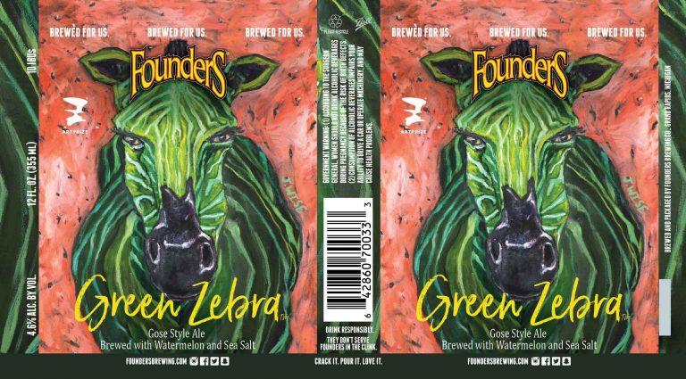 Founders Green Zebra