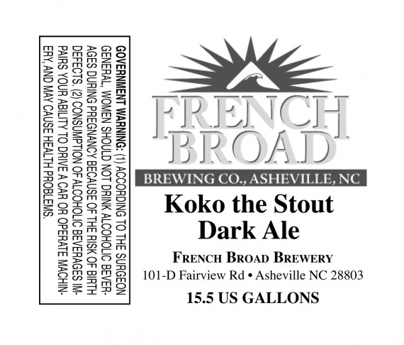 French Broad Coco The Stout