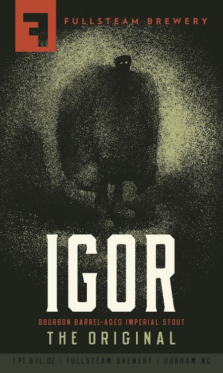 Fullsteam Igor Bourbon Barrel Aged Imperial Stout