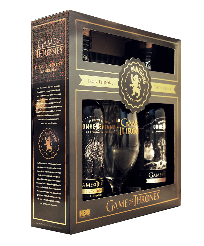 Ommegang To Re Release Two Game Of Thrones Beers Gift Set