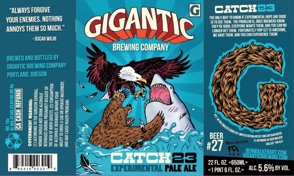 Gigantic Brewing Catch 23